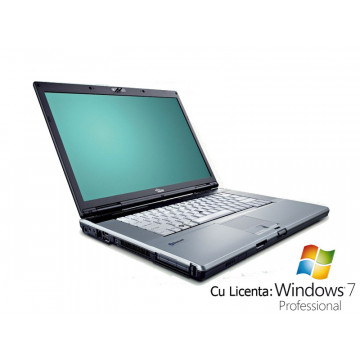 Fujitsu Siemens E8310, Intel Core 2 Duo T8300, 2.4Ghz, 2Gb, 120, DVD-RW + Win 7 Pro Laptopuri Second Hand