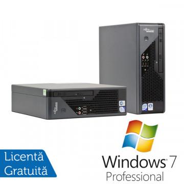 Fujitsu Siemens Esprimo C5730, Core 2 Duo E8400 3.0Ghz, 6Mb Cache 2Gb DDR2, 160Gb HDD, DVD-RW + Win 7 Professional Calculatoare Refurbished