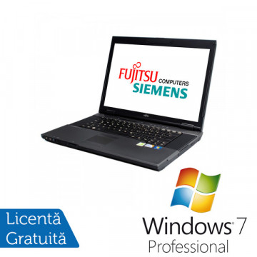 Fujitsu Siemens Esprimo D9510, Intel Core 2 Duo P8400, 2.2Ghz, 2Gb DDR3, 160Gb, DVD-RW + Windows 7 Professional Laptopuri Refurbished
