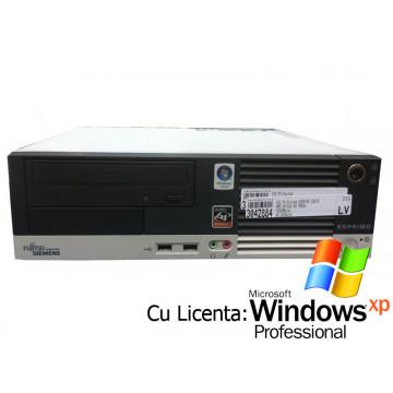 Fujitsu Siemens Esprimo E5615, AMD Athlon 64 3800+ x2 Dual Core, 2.0Ghz, 1Gb DDR2, 80Gb + Win Xp Pro Calculatoare Second Hand