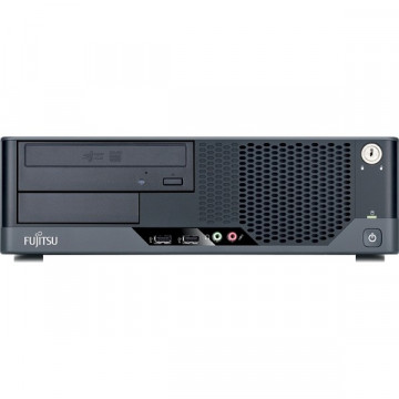Fujitsu Siemens Esprimo E5731, Intel Core 2 Duo E8500, 3.16Ghz, 2Gb DDR3, 160Gb, DVD-RW Calculatoare Second Hand