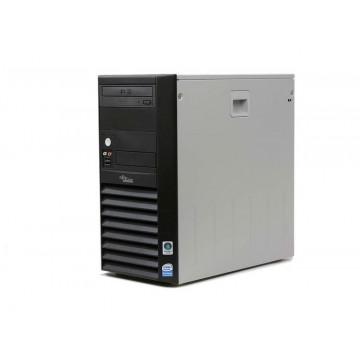 Fujitsu Siemens Esprimo P2510, Intel Celeron 3.2Ghz, 1Gb DDR2, 80Gb, DVD-ROM Calculatoare Second Hand