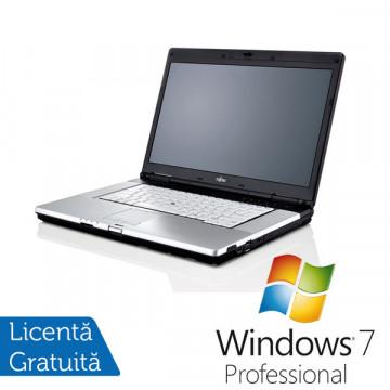 Fujitsu Siemens Lifebook E780, Intel Core i3-370M, 2.4Ghz, 2Gb DDR3, 160Gb, DVD-RW + Win 7 Professional Laptopuri Refurbished