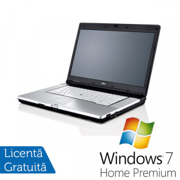 Fujitsu Siemens Lifebook E780, Intel Core i5 M460, 2.53Ghz, 2Gb DDR3, 160Gb, DVD-RW, Webcam + Win 7 Premium + 36 LUNI GARANTIE Laptopuri Refurbished