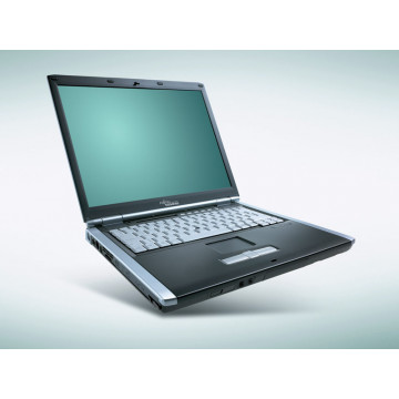 Fujitsu Siemens Lifebook E8020, Intel Pentium M740, 1.73Ghz, 1Gb DDR2, 40Gb HDD, DVD-RW, 15 inch Laptopuri Second Hand