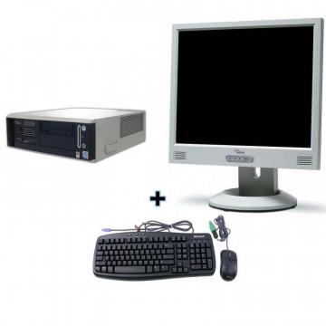Fujitsu Siemens N320, P4 2.8 ghz, skt LGA775, 1gb RAM, 40gb HDD + Monitor 15 LCD/TFT
