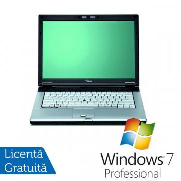 Fujitsu Siemens S7210, Core 2 Duo T8100, 2.1Ghz, 2Gb, 80Gb HDD, DVD-RW + Win 7 Pro Laptopuri Second Hand