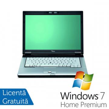 Fujitsu Siemens S7210, Core 2 DuoT8100, 2.1Ghz, 2Gb DDR2, 80Gb, DVD-RW + Win 7 Premium Laptopuri Second Hand