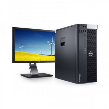 Gaming PC Extreme DELL T3600, Xeon Hexa Core E5-1650, 32GB DDR3 ECC, 480GB SSD + 2TB SATA, NVIDIA GTX1070 + Monitor DELL U2410F Oferte Pachete IT