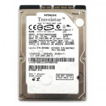 Hard disk pentru laptop 60Gb SATA, 2.5 inch, Diverse modele