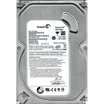 Hard Disk Seagate Pipeline HD ST3320310CS 320Gb SATA II, 8Mb buffer, 3.5 inch