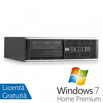 HP 6000 Pro SFF, Intel Core 2 Quad Q6600, 2.4GHz, 4GB DDR3, 250GB HDD, DVD-RW + Windows 7 Premium Calculatoare Refurbished