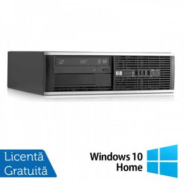 HP 6000 Pro SFF, Intel Dual Core E5700, 3.0Ghz, 4Gb DDR3, 250Gb, DVD-ROM + Windows 10 Home Calculatoare Refurbished