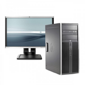 HP 6200 Pro Tower, Intel Core i5-2400 3.1GHz, 4GB DDR3, 250GB SATA, DVD-RW + Monitor LA1905WG Oferte Pachete IT