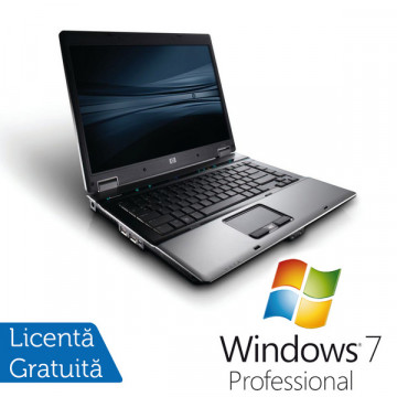 HP 6730b Notebook SH, Intel Core 2 Duo P8600, 2.4Ghz, 2Gb, 160Gb HDD, DVD-RW, 15 inci LCD + Windows 7 Professional Laptopuri Refurbished