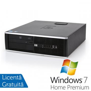 HP 8100 Elite SFF, Intel Core i3-560, 3.3Ghz, 4Gb DDR3, 160Gb HDD, DVD-RW, Port Serial + Win 7 Premium Calculatoare Refurbished