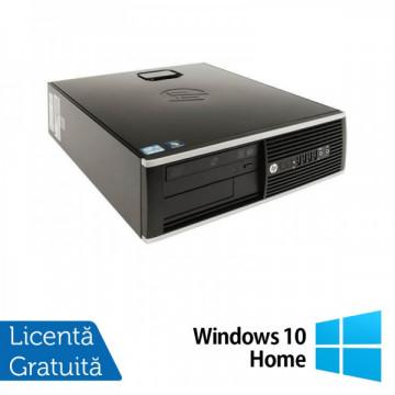 HP 8200 Elite SFF, Intel Core i5-2400 3.1Ghz, 4Gb DDR3, 250Gb SATA, DVD-ROM, Port Serial, DisplayPort + Windows 10 Home Calculatoare Refurbished