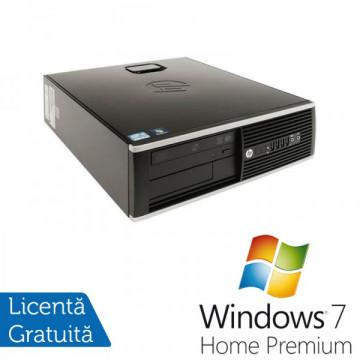 HP 8200 Elite SFF, Intel Core i5-2400 3.1Ghz, 4Gb DDR3, 250Gb SATA, DVD-ROM, Port Serial, DisplayPort + Windows 7 Home Premium Calculatoare Refurbished