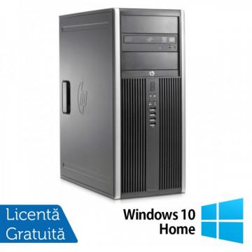 Hp 8200 elite tower, Intel Core i3-2100 3.1Ghz, 4Gb DDR3, 250 Gb SATA, DVD-ROM + Windows 10 Home Calculatoare Refurbished