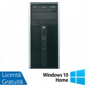 HP Compaq 6200 Pro MT, Intel Core i3-2120 3.3Ghz, 4Gb DDR3, 250GB, DVD-RW + Windows 10 Home Calculatoare Refurbished
