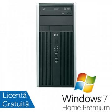 HP Compaq 6200 Pro MT, Intel Core i3-2120 3.3Ghz, 4Gb DDR3, 250GB, DVD-RW + Windows 7 Home Premium Calculatoare Refurbished