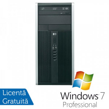 HP Compaq 6200 Pro MT, Intel Core i3-2120 3.3Ghz, 4Gb DDR3, 250GB, DVD-RW + Windows 7 Professional Calculatoare Refurbished