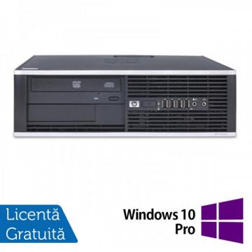 HP Compaq 6200 Pro SFF, Intel Core i3-2100 3.1GHz , 4Gb DDR3 RAM, 250GB SATA, DVD-RW + Windows 10 Pro Calculatoare Refurbished