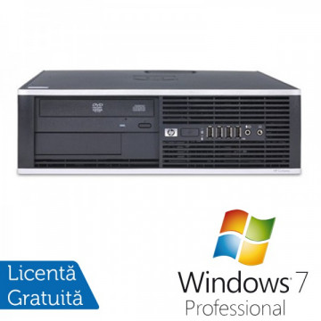 HP Compaq 6200 Pro SFF, Intel Core i3-2100 3.1GHz , 4Gb DDR3 RAM, 250GB SATA, DVD-RW + Windows 7 Professional Calculatoare Refurbished