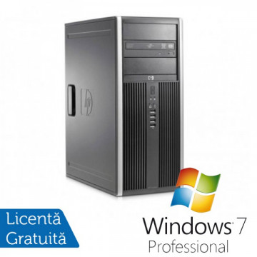 HP Compaq 6300 Pro Tower, Intel Core i5-2400 3.1GHz, 4Gb DDR3, 320Gb, DVD-RW + Windows 7 Professional Calculatoare Refurbished