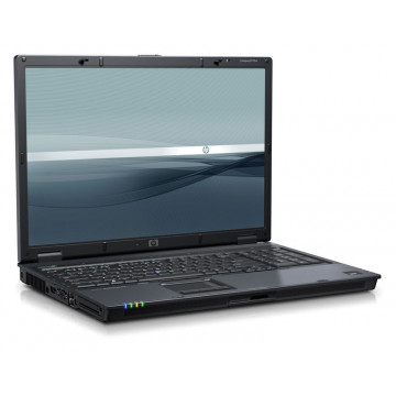 HP Compaq 8710w Mobile Workstation, Intel C2d T7700, 2.4ghz, 2gb DDR2, 120gb, DVD-RW, 17 inci Laptopuri Second Hand