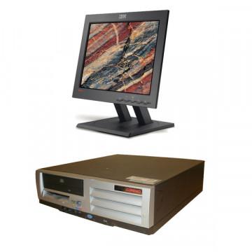 HP Compaq D510, Intel Pentium 4 2.0Ghz, 1Gb DDR, 40Gb HDD, CD-ROM + Monitor LCD 15 inch