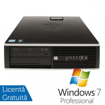 HP Compaq Elite 8000 SFF, Intel Core 2 Quad Q9550 2.83Ghz, 4Gb DDR3, 500Gb, DVD-RW + Win 7 Professional Calculatoare Refurbished