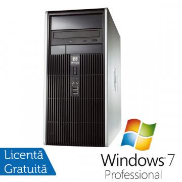 HP DC5700 Tower, Intel Pentium Dual Core E5300, 2.6Ghz, 2Gb, 160Gb HDD, DVD-RW + Win 7 Professional Calculatoare Refurbished