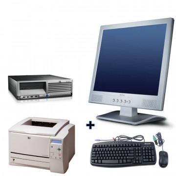 HP DC7100 + Monitor lcd 17 + Imprimanta Laser HP 1160