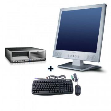 HP DC7600 Intel P4, 2.8 GHz LGA 775, 1024mb, 80gb + Monitor 15 LCD, diverse modele
