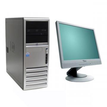 HP DC7600 Intel Pentium 4, 3.0GHz, 1gb ddr2, 40gb sata, DVD-ROM + Monitor LCD/TFT 17 inci