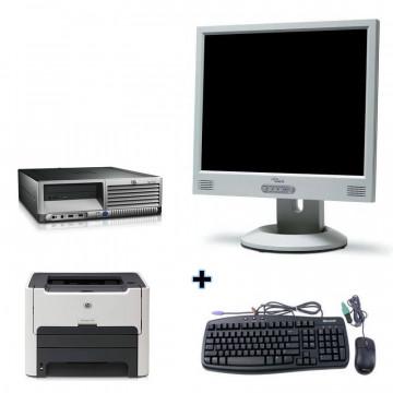 HP DC7600 + Monitor lcd 17 + Imprimanta Laser HP 1160