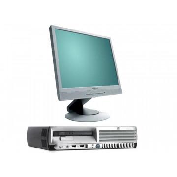 HP DC7600 USFF, Pentium 4 3.0Ghz, 1Gb, 80Gb + Monitoare SH LCD 17 inci Grad a Lux