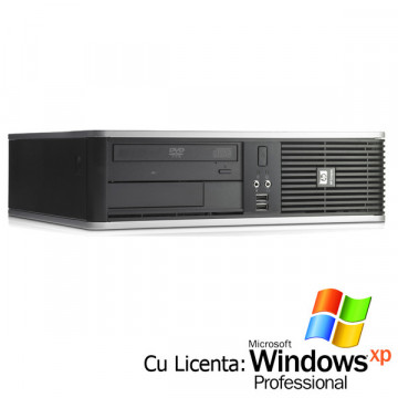 HP DC7800 Core 2 Duo E6550 2.33Ghz, 1Gb, 80Gb Sata, DVD-RW + Win Xp Pro Calculatoare Second Hand