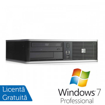 Hp DC7900, Core 2 Duo E7300, 2.66Ghz, 2Gb DDR2, 160Gb, DVD-RW + Win 7 Pro Calculatoare Second Hand