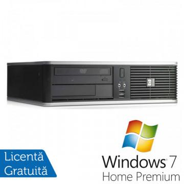 Hp DC7900, Intel Celeron 440 , 2.0Ghz, 2Gb DDR2, 160Gb, DVD-RW + Win 7 Home Calculatoare Second Hand
