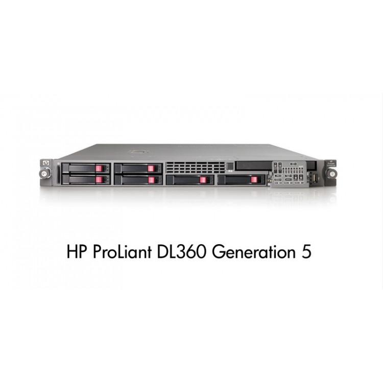 HP DL360 G5, 2x Xeon Quad Core X5450 3 0Ghz, 8Gb DDR2 FBD