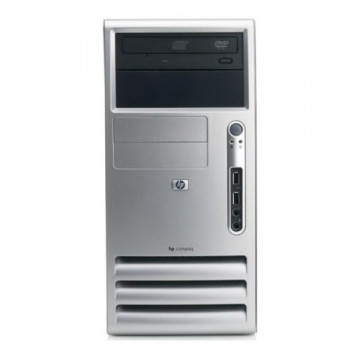 HP dx 5150 MT, AMD ATHLON X2 3800+, 1024MB, 80GB,DVD-ROM Calculatoare Second Hand