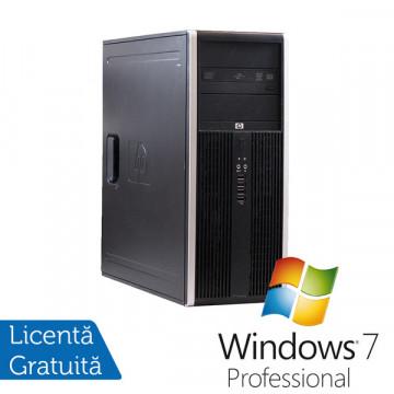 Hp Elite 8100 Tower, Intel Core i5-650, 3.2Ghz, 4Gb DDR3, 250Gb SATA, DVD-RW + Windows 7 Professional Calculatoare Refurbished