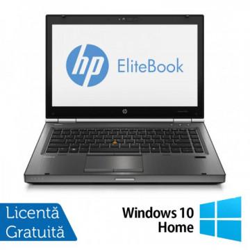 Hp EliteBook 8470p, Intel Core i5-3360M Gen. 3, 2.8GHz, 8Gb DDR3. 320Gb SATA II, DVD-RW, 14 inch LED-Backlit HD + Windows 10 Home Laptopuri Refurbished