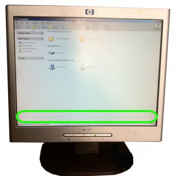 Hp L1502, LCD 15 inci (cod:19) Monitoare Second Hand