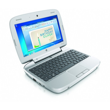 HP Mini 100e, Intel Atom N455, 1.66Ghz, 1Gb, 160Gb, 10.1 Inci LED, Webcam Laptopuri Second Hand