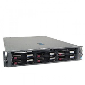 HP Proliant DL 380 G4, 2x Intel Xeon 3.2Ghz, 8Gb DDR2 ECC, 2x 146Gb SCSI, CD-ROM, RAID 6i + 6400 Controller Servere second hand