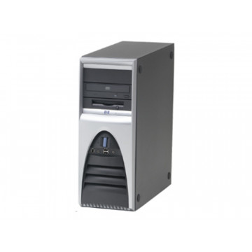 Hp Workstation XW4000, Intel pentium 4, 2.4Ghz, 1Gb DDR ECC, 80Gb, DVD-RW Calculatoare Second Hand