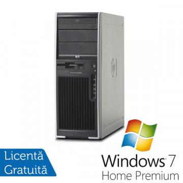 Hp Workstation XW4400, Intel Core 2 Duo E6400, 2.13Ghz, 2Gb RAM, 160 Gb HDD, DVD-RW + Windows 7 Premium Calculatoare Second Hand